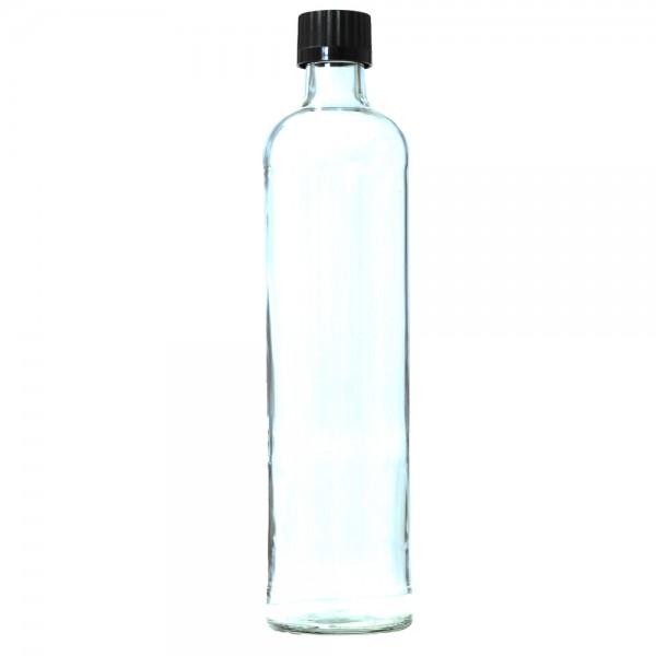 Glasflasche ohne Neopren