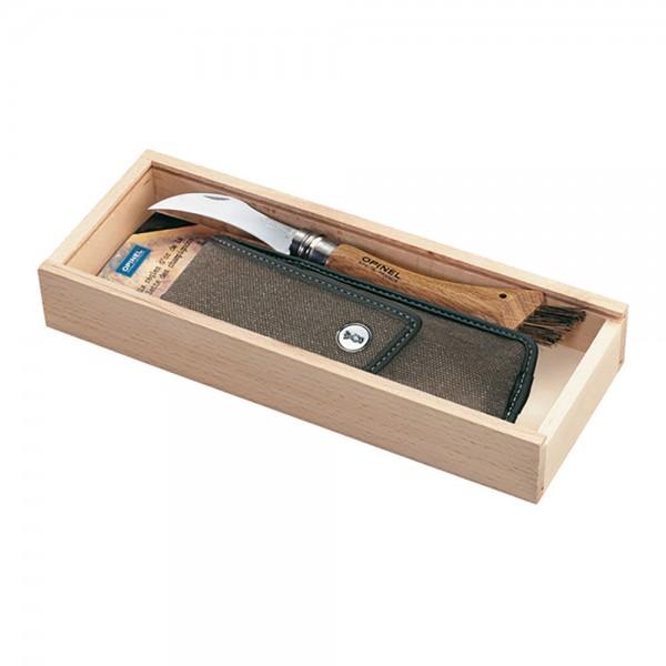 """Pilzmesser """"Eiche"""" in Holzbox"""
