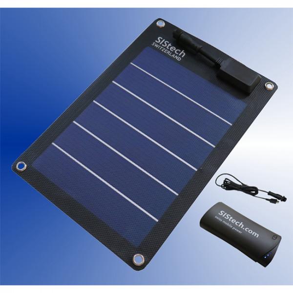 Set Solarcard 5V/5W SISpower 5200mAh