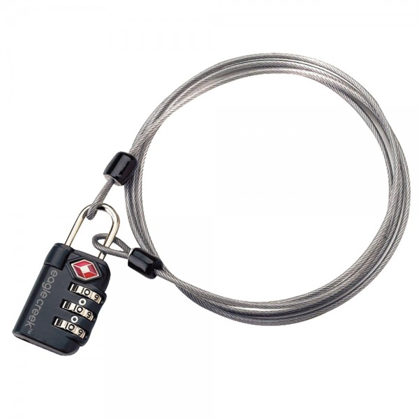 TSA 3-Dial Lock & Cable