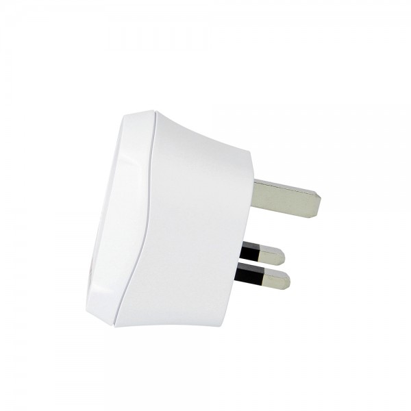 Travel Adapter Reisestecker Schuko to UK