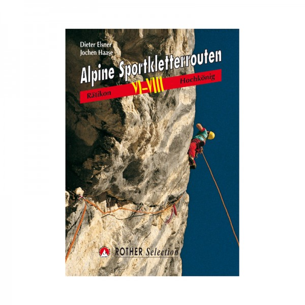 Alpine Sportkletterrouten VI-VIII