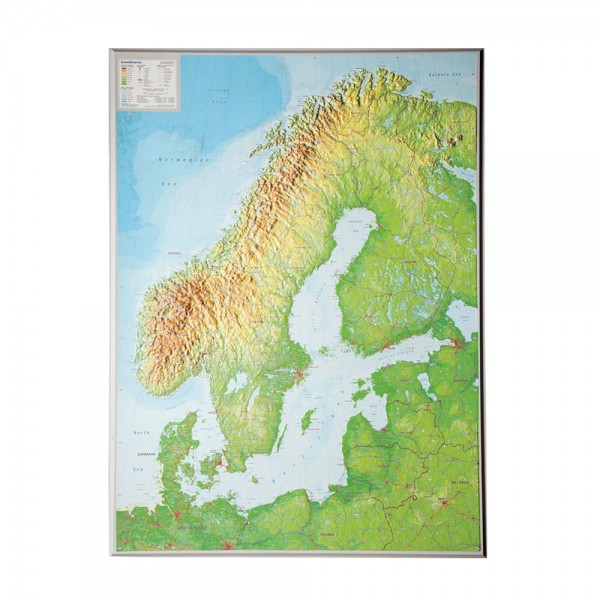 Skandinavien groß