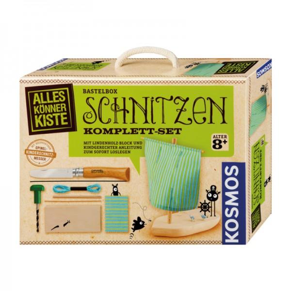 Bastelbox Schnitzen Komplett-Set