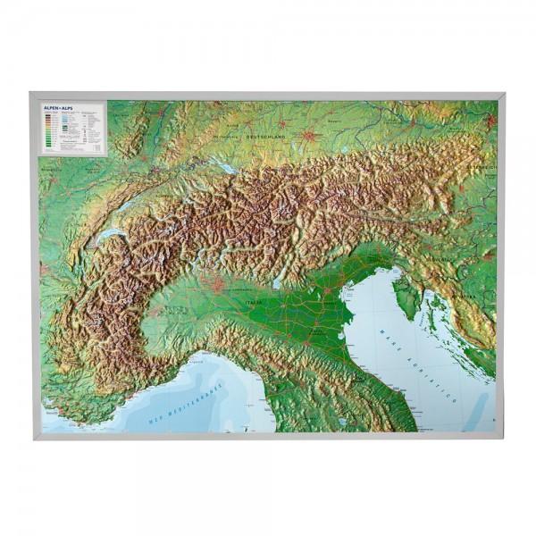 Alpen groß mit Alurahmen