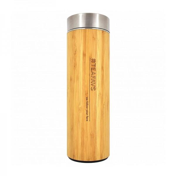 Bambus Thermobecher Tea to Go