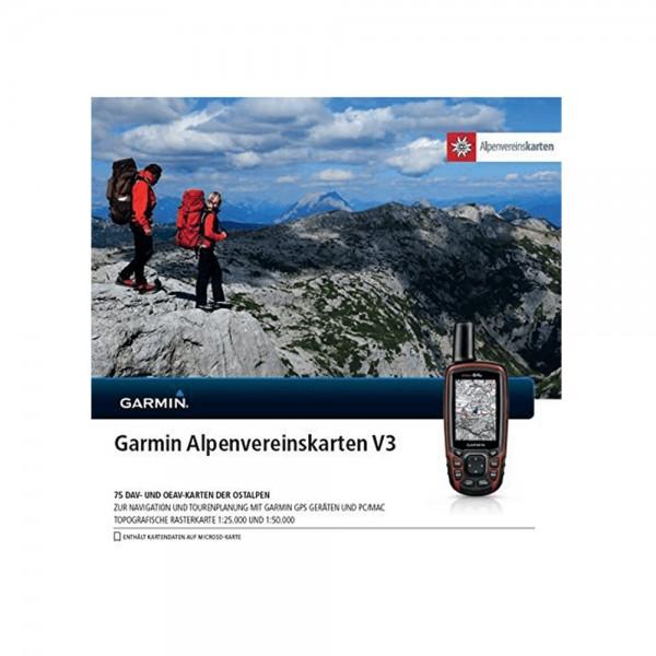 Alpenvereinskarten V3 Rasterkarten auf MicroSD