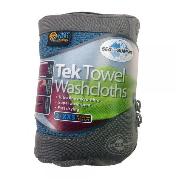 Tek Towel 2 x Wash Cloths Waschlappen