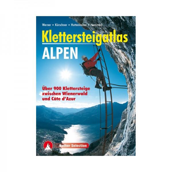 Klettersteigatlas - Alpen