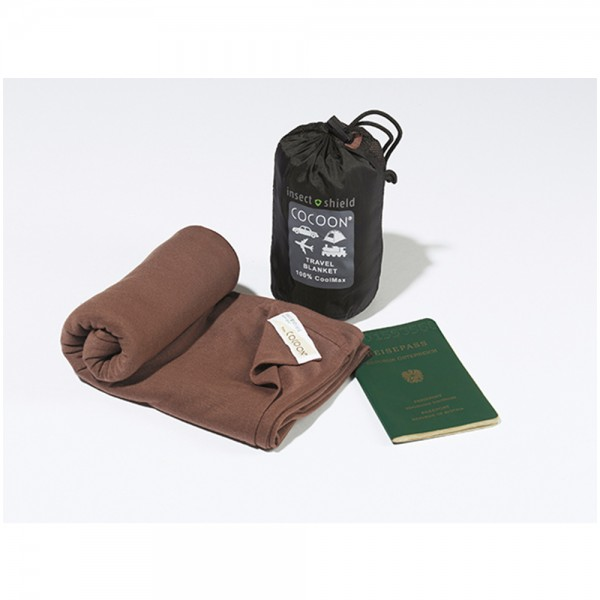 Travel Blanket Insect Shield Coolmax