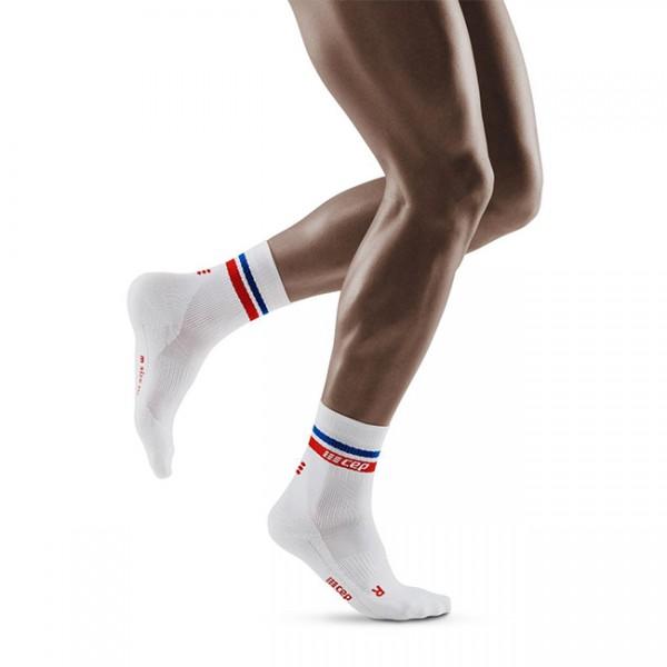 80's Compression Mid Cut Socks