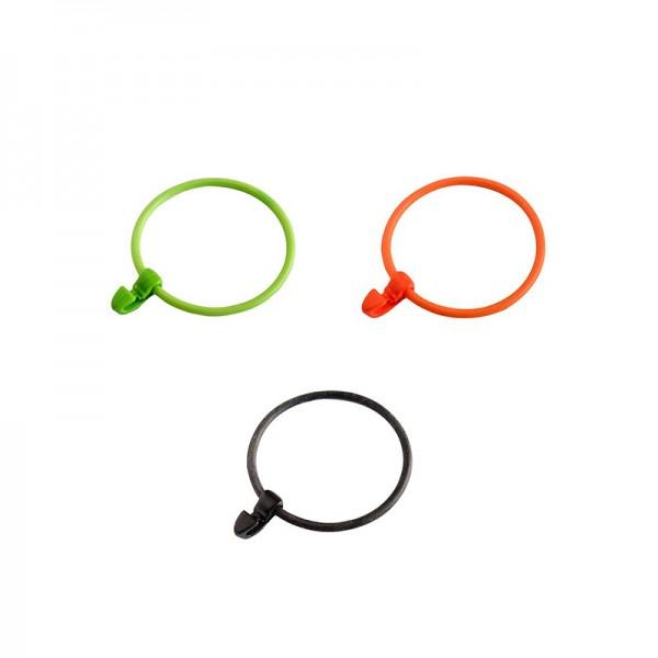 Lock Band 8 cm, 6 Stück