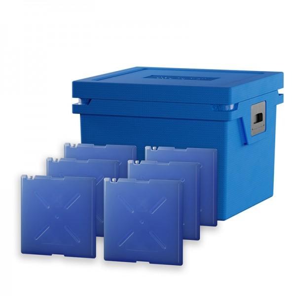 Box L + 6 x Standard Cool ( -2° C bis +2° C )